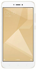 Xiaomi Redmi 4X (16Gb) Gold