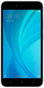 Смартфон Xiaomi Redmi Note 5A (16Gb) Gray