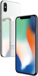 Apple iPhone X 256GB серебристый