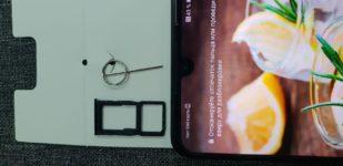 слот сим карты на Huawei p30 lite