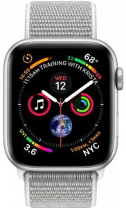 Apple Watch Series 4 40mm Aluminum Silver (MU652)