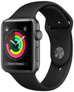 Apple Watch Series 3 42mm Aluminium Space Grey (MTF32)
