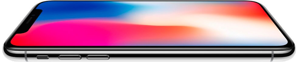 Apple iPhone X 256GB серый космос