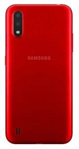 Samsung Galaxy A01 (SM-A015F/DS) красный