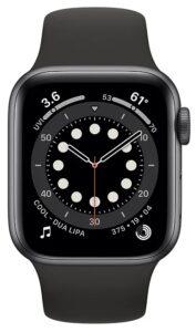 Apple Watch Series 6 40mm Aluminum Space Gray (MG133)