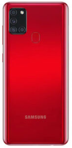 Samsung Galaxy A21s 3/32GB красный