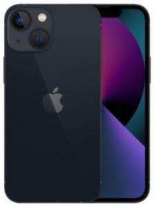 Купить смартфон Apple iPhone 13 mini 128Gb (темная ночь)