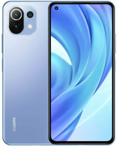 Купить телефон xiaomi mi 11 lite 6gb 128gb голубой баблгам