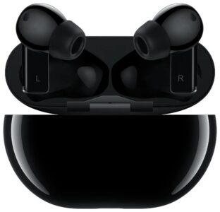 Купить беспроводные наушники Huawei FreeBuds Pro (угольный черный)